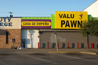 Valu+Pawn on W. Jefferson Blvd., Dallas, Texas.