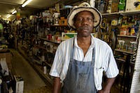 Eli Day, owner of Oak Cliff Paint and Hardware